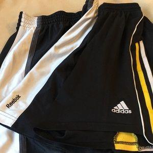 Adidas and Reebok boys shorts size 10